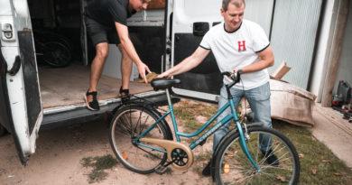 Megvalósult az 50 bicikli projekt